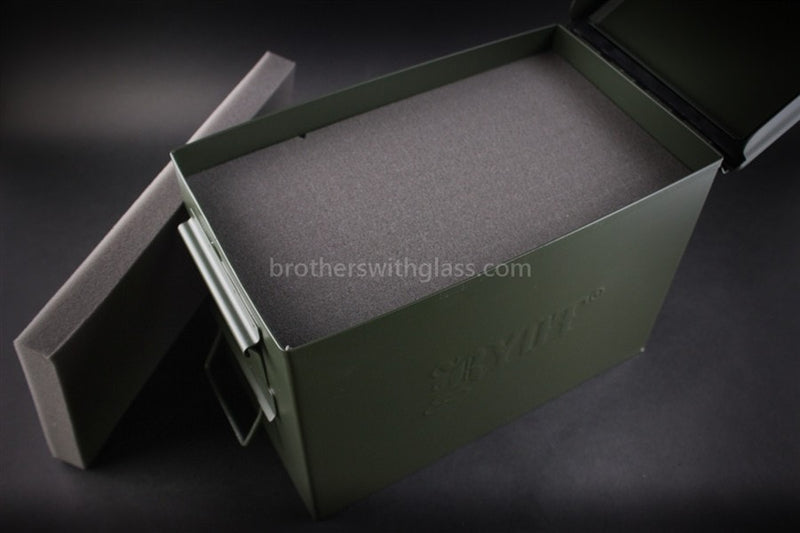 Ryot Destroyer Ammo Can Glass Pipe Case - Brothers with Glass - 3