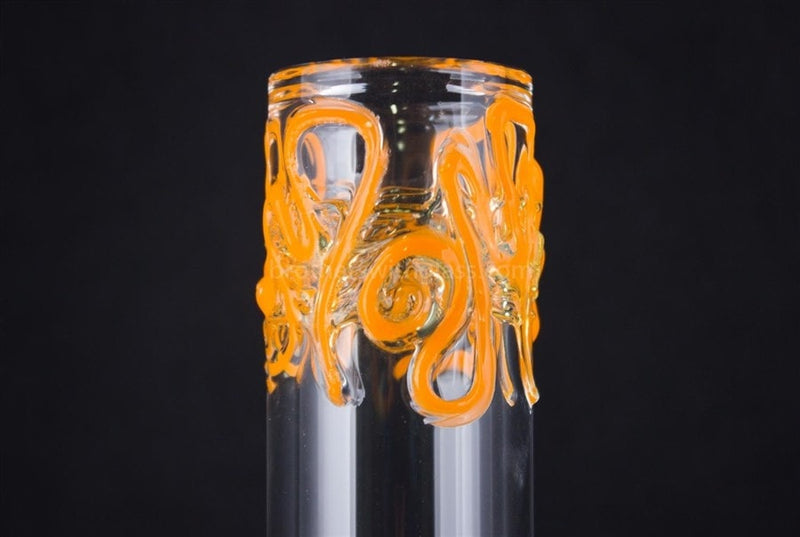 Realazation 12 In Worked Beaker Water Pipe - Orange and Slyme - Brothers with Glass - 4