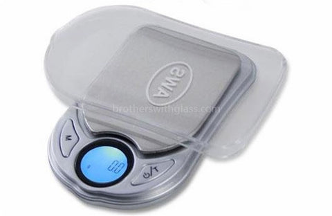 AWS PV-650 Digital Pocket Scale With Tray - Silver - Brothers with Glass