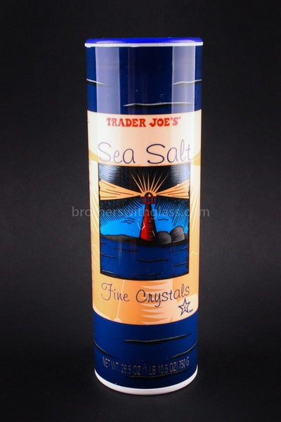Discreet Security Container - Sea Salt - Brothers with Glass