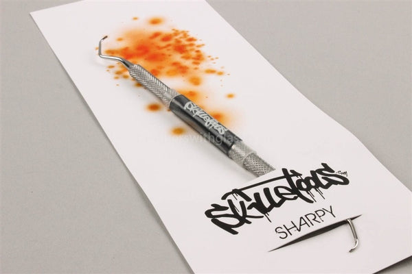 Skilletools Sharpy Concentrate Dabber - Brothers with Glass - 1