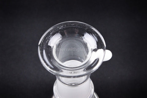 Glass Concentrate Top Hat Dome 14 mm White - Brothers with Glass - 2