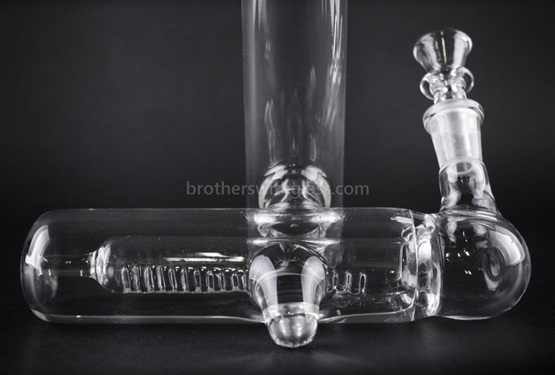 Treehouse Glass Leanback Inline Water Pipe - Brothers with Glass - 3