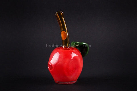 Mathematix Glass Apple For the Teacher Hand Pipe - Brothers with Glass - 2