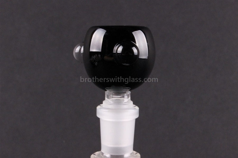 Bowl With Marbles Glass Slide 14 mm Black - Brothers with Glass - 1