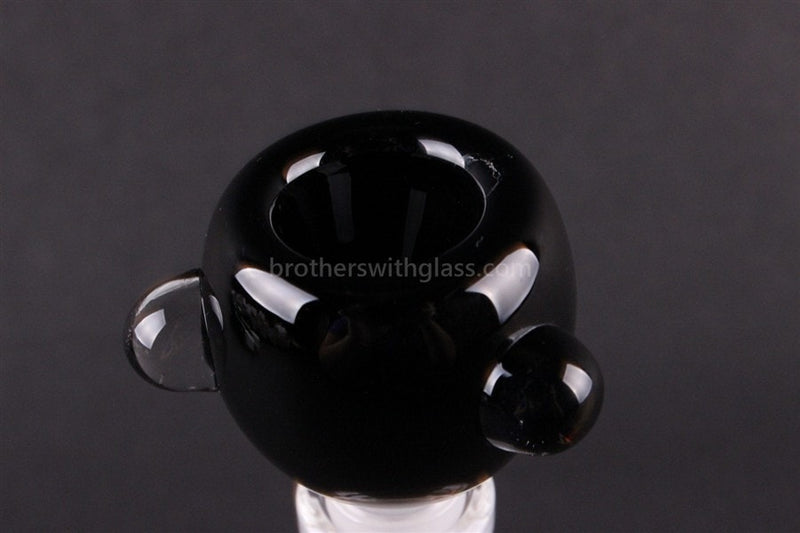 Bowl With Marbles Glass Slide 14 mm Black - Brothers with Glass - 2