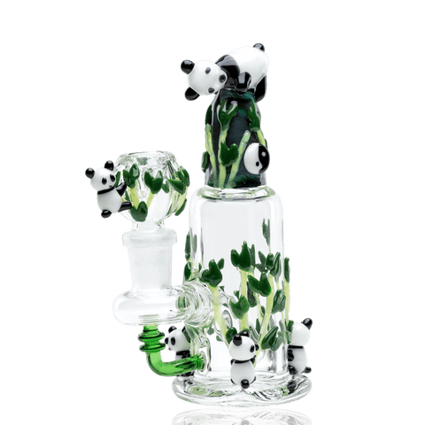Empire Glassworks Nano Panda Family Water Pipe