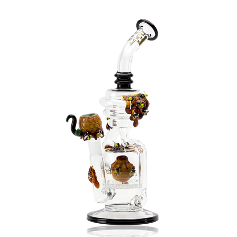 Empire Glassworks Bee Hive Recycler Dab Rig