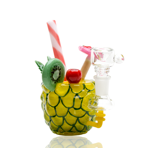 Empire Glassworks Pineapple Paradise Bong