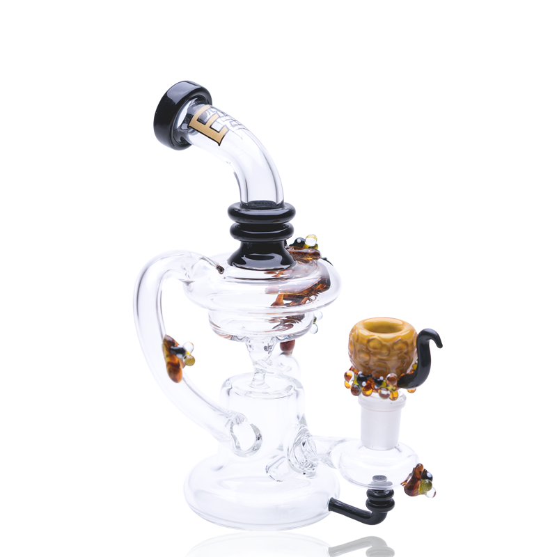 Empire Glassworks Mini Beehive Recycler Dab Rig