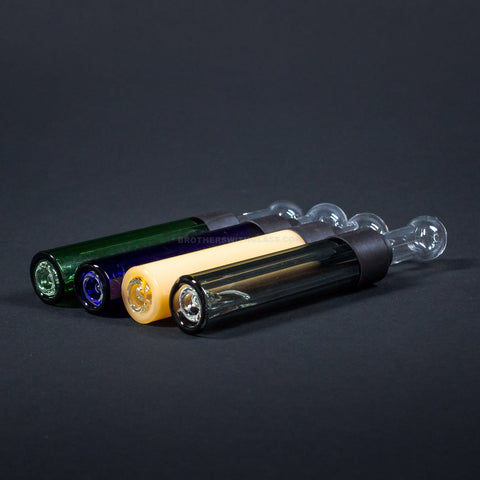 Goo Roo Designs Colored Glass Blunt Hand Pipe