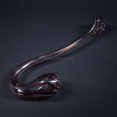 Goo Roo Glass 14 In Pinstripe Gandalf Hand Pipe