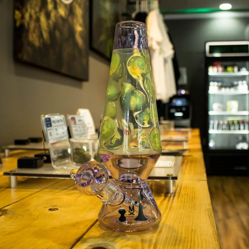 Mathematix Glass Groovy Tube Dab Rig