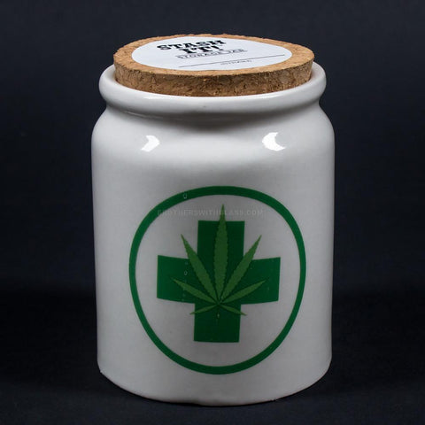 Stash It! Medical Cannabis Storage Jar