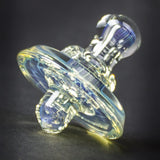 Waugh Street Glass Silver Fumed Directional Flow Carb Cap