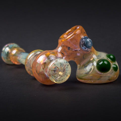 Mountain Jam Glass Fumed Side Car Hand Pipe