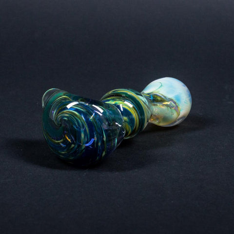 Nebula Glass Fumed Galaxy Spoon Hand Pipe