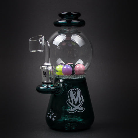 Mathematix Glass Gumball Machine Dab Rig