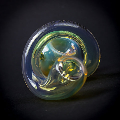 Chameleon Glass Fumed Ash Catcher Loop D Loop Hand Pipe