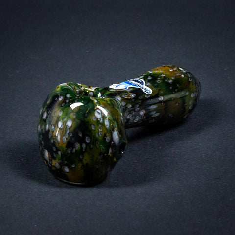Chameleon Glass Glowing Milky Way Hand Pipe