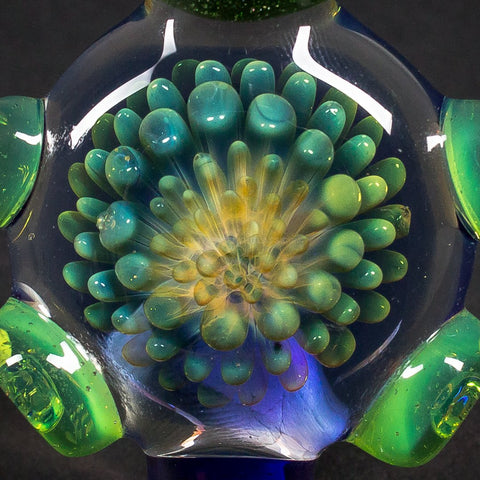 Fumed Implosion With Opal Pendant