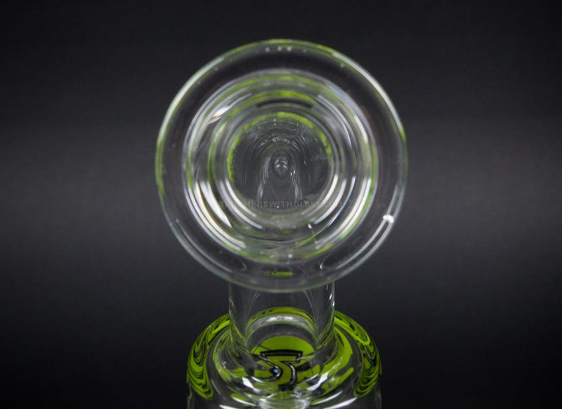 Zob Glass Inline to 8 Arm Tree Straight Wubbler Bong