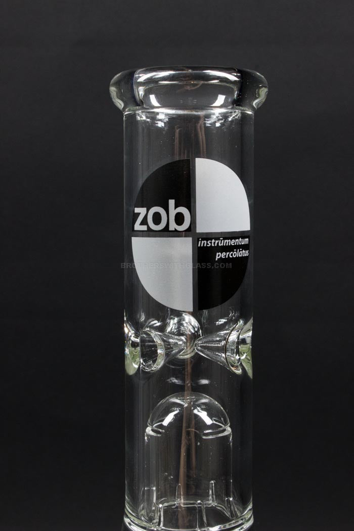 Zob Glass Mini 8 Arm Tree Mini Beaker Water Pipe