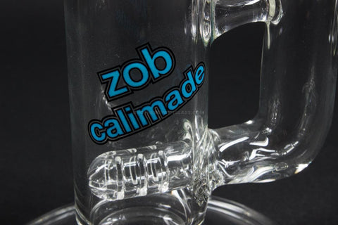 Zob Glass Inline to 8 Arm Tree Straight Bong