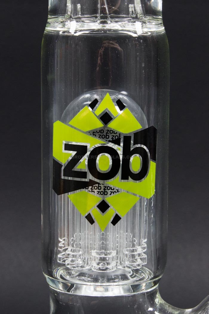 Zob Glass Mini 8 Arm Tree Straight Bong