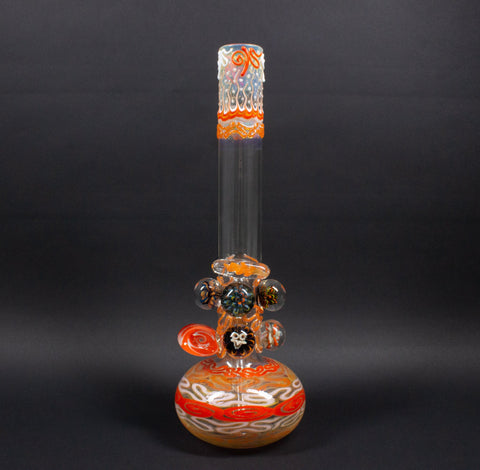 HVY Glass Atlas Bubble Bottom 14mm Grommeted OG Bong
