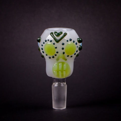 Mathematix Glass 14mm Sugar Skull Slide
