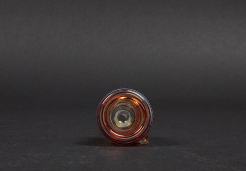 Lisa Glass 14mm Color Coiled Slide