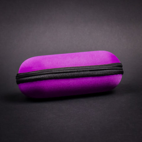 Biohazard Padded Zippered 6 Inch Pipe Case - Purple
