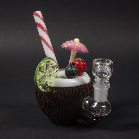 Empire Glassworks Coconut Colada Dab Rig
