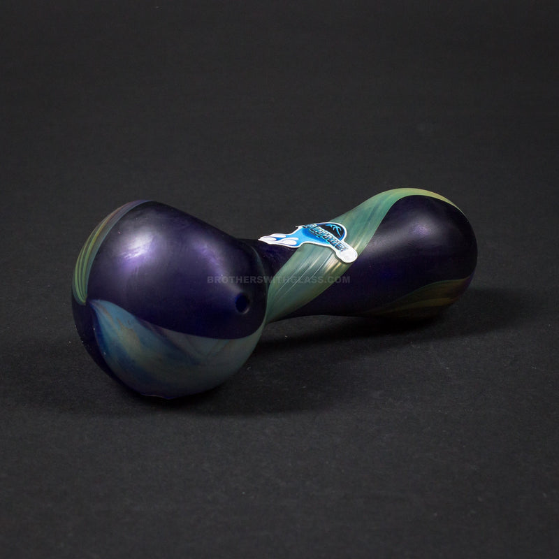 Chameleon Glass Northern Lights Hand Pipe - Blue