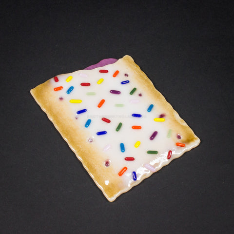 Jamie Burres Fused Soft Glass Pop Tart