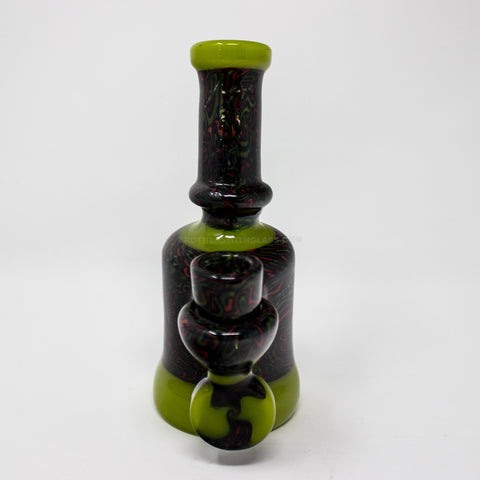 EA Glass Worked Encalmo Banger Hanger Dab Rig