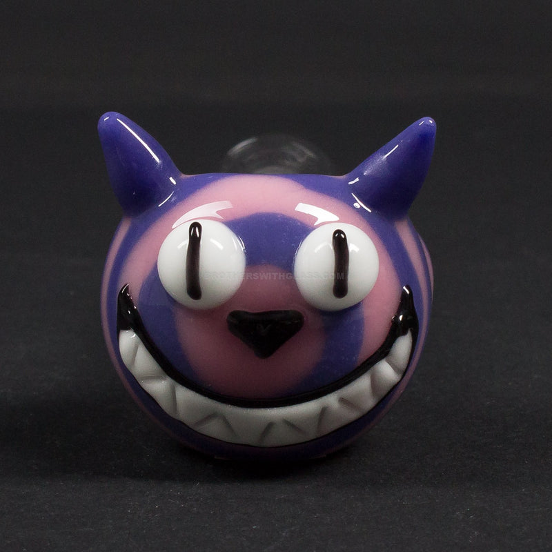 Chameleon Glass Cheshire Cat Spubbler