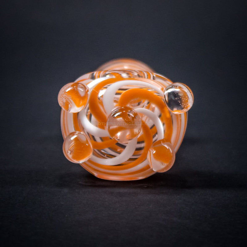 Mathematix Glass Color Swirled Hand Pipe