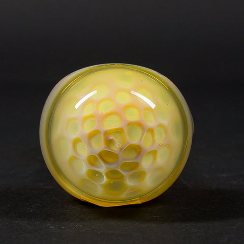 Chameleon Glass Fumed Paradox Honeycomb Hand Pipe
