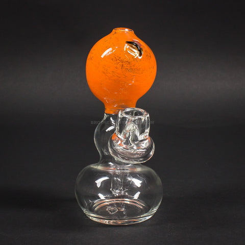 Mad Hatters Glass Orange Dab Rig