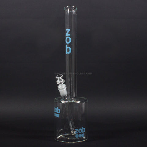 Zob Glass 110mm 18 inch Straight Water Pipe