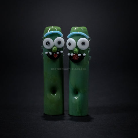 Empire Glassworks Pickle Rick Rolling Tip