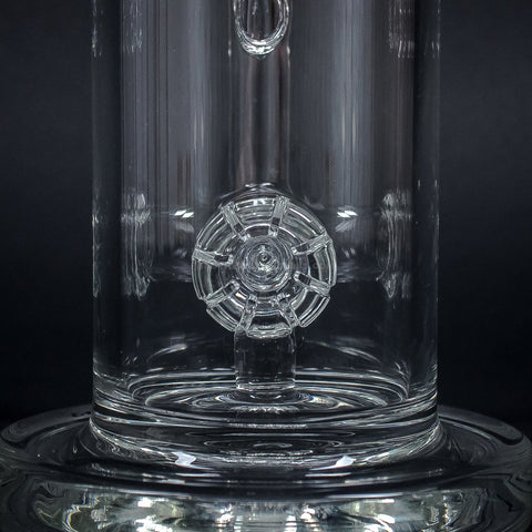 C2 Custom Creations 16 In Daisy Jet Perc Bong
