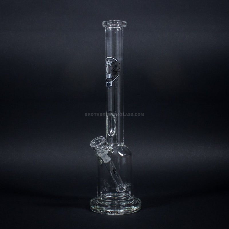 C2 Custom Creations Fixed Showerhead Straight Bell Bong