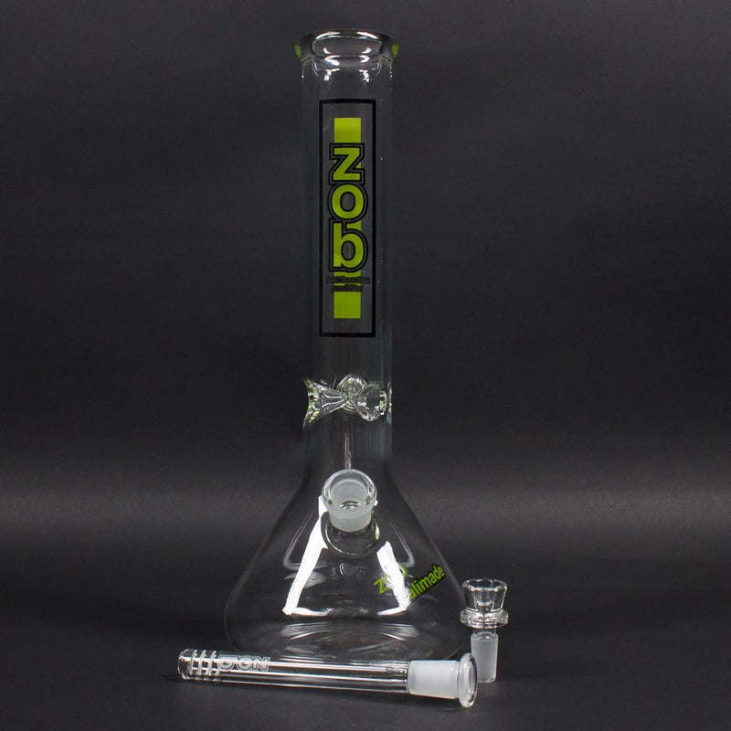 Zob Glass 14 inch Beaker Bong - 14mm