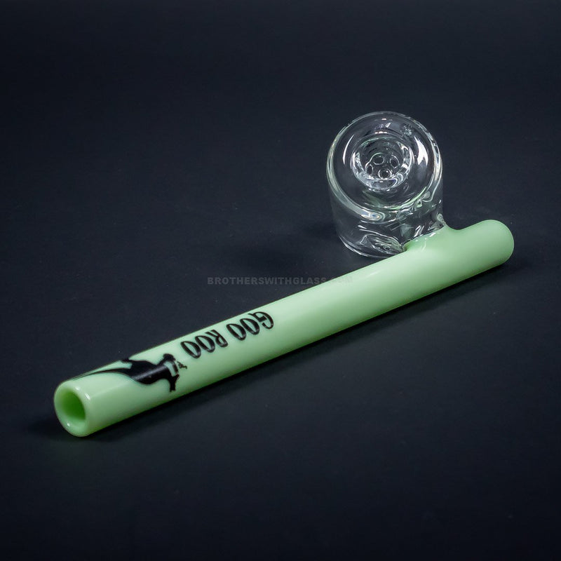 Goo Roo Designs Sidecar Steamroller Hand Pipe with Screen Bowl