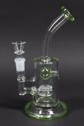 No Label Glass Jet Ball Dab Rig