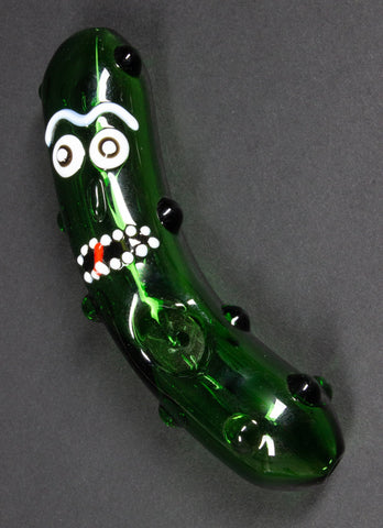 No Label Glass Rich the Pickle Hand Pipe