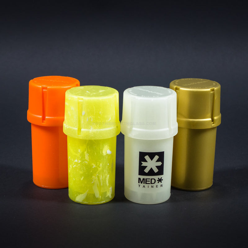 MedTainer Storage Grinder Airtight Container Stash Jar